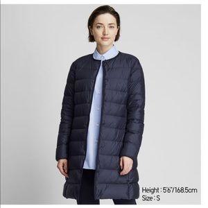 Uniqlo Black Women Ultra light down Compact coat